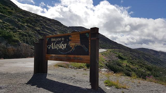 vítejte na Aljašce