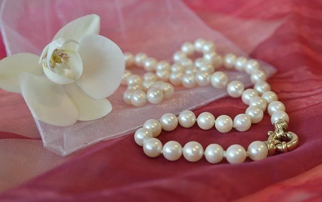 šperky a orchidej