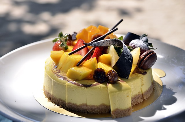 dortík s ovocem