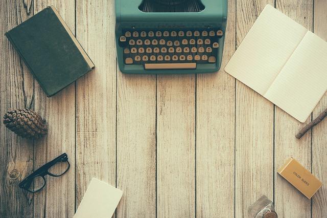prostor na psaní