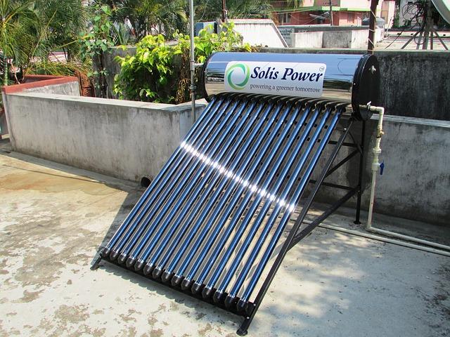 solarní baterie