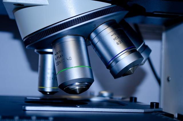 mikroskop na výzkum