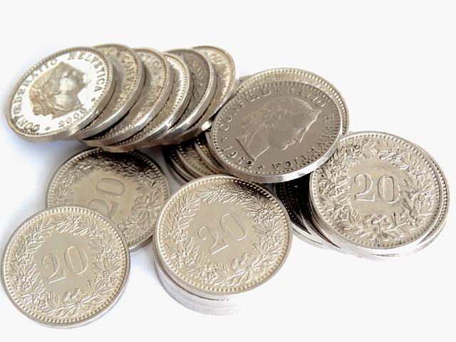dvaceticentové mince