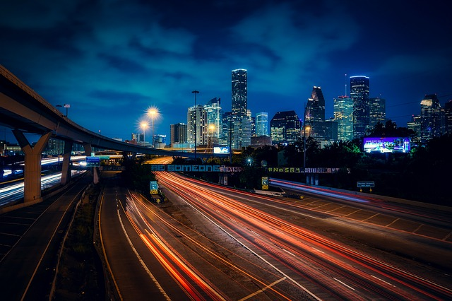 noční Houston