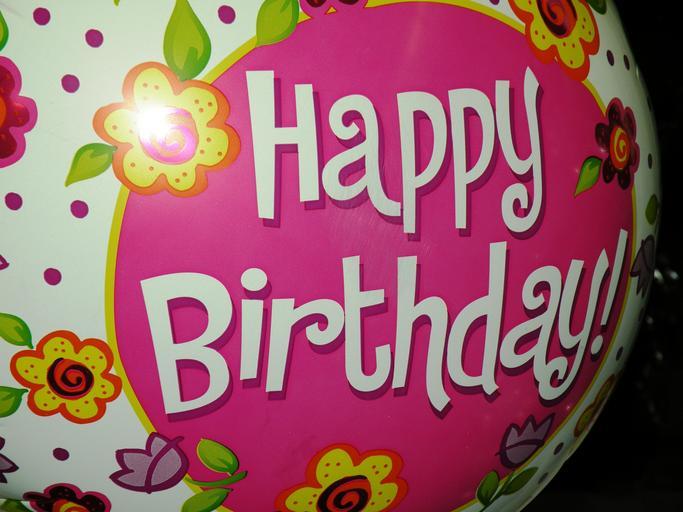 narozeninový balónek