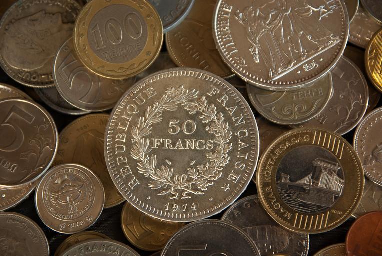 francouzské franky