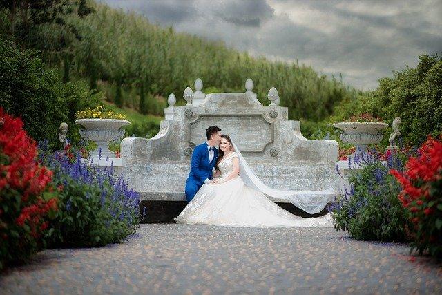 focení svatebního páru