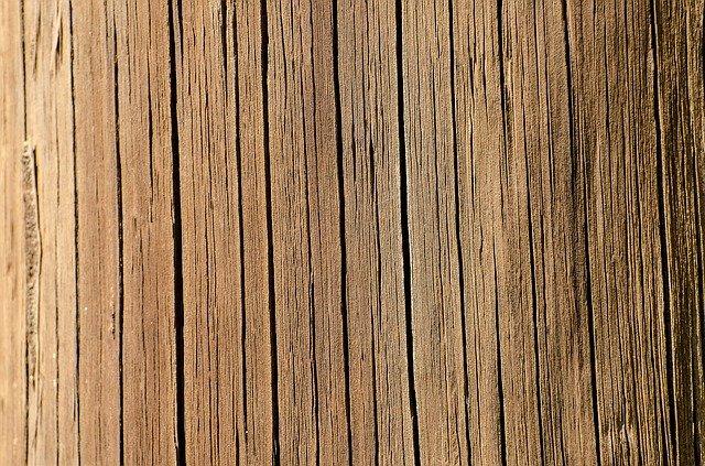 praskliny ve dřevě