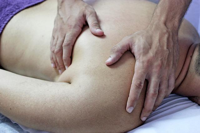 masáž muže
